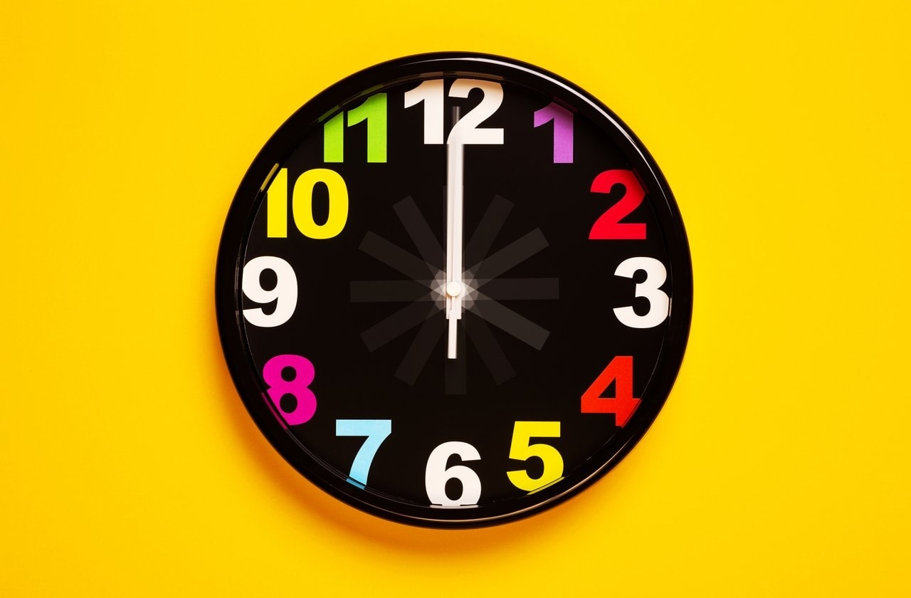 how to teach clock reading to child